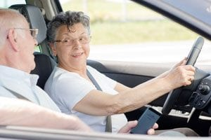 distracted driving among the elderly