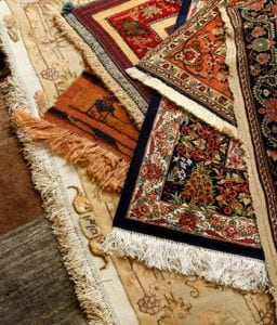 throw rugs tripping hazard
