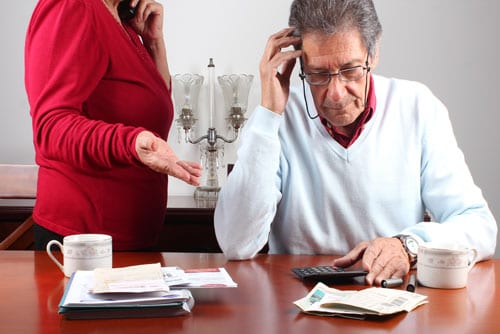 elderly loneliness can lead to financial trouble