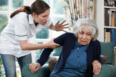 hire the right in-home caregiver to avoid elder abuse